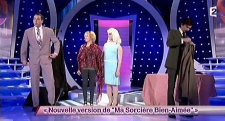 """Arnaud Tsamere dans le sketch de Garnier et Sentou (Nouvelle version de """"Ma sorcière bien-aimée"""")"""