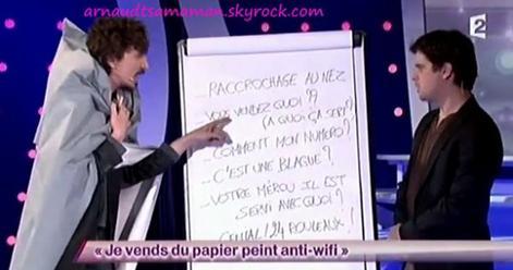 Je vends du papier peint anti-wifi (64ème passage d'Arnaud Tsamere)