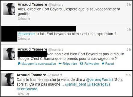 Direction Fort Boyard pour Arnaud Tsamere!