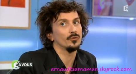 """Arnaud Tsamere dans """"C A VOUS"""""""
