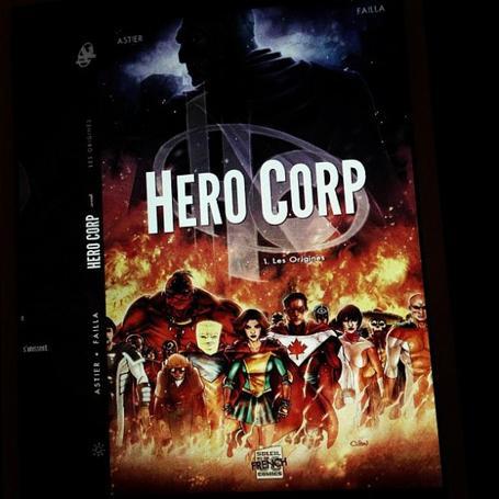 Scoop!!!! Une 3ème saison pour Hero Corp!