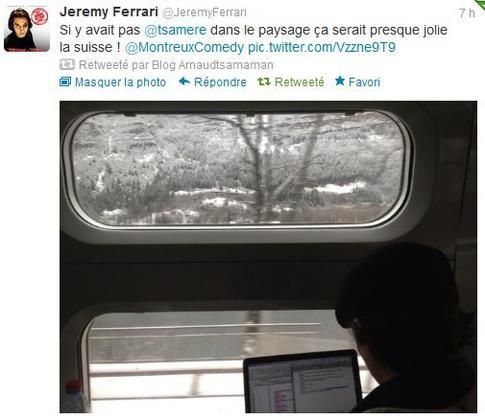 Arnaud Tsamere et Jérémy Ferrari partent en direction du Festival de Montreux!