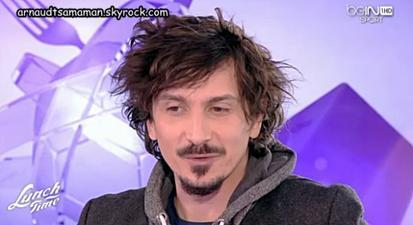 "Arnaud Tsamere dans l'émission ""Lunch Time"" sur Bein"