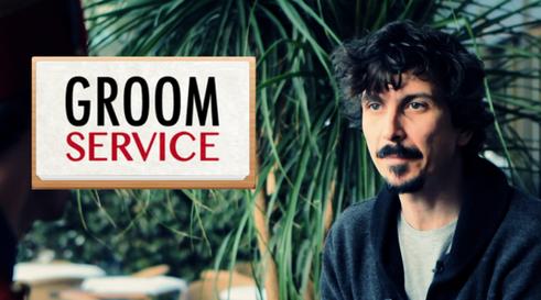 "Arnaud Tsamere dans un épisode de ""Groom Service"" (série)"
