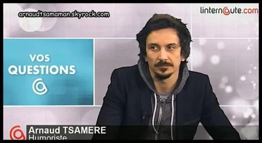"Arnaud Tsamere dans ""L'Internaute"""