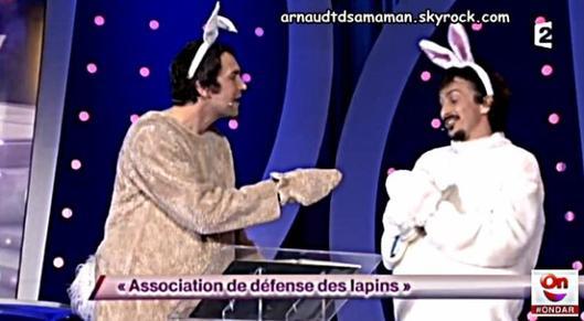 Association de défense des lapins (74ème passage d'Arnaud Tsamere)