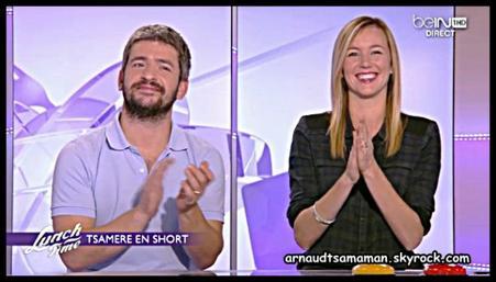 """3ème chronique d'Arnaud Tsamere dans """"Lunch Time"""""""