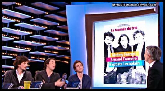 """Arnaud Tsamere dans """"Le Grand Journal"""""""