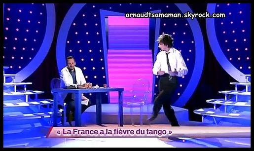 77ème passage d'Arnaud Tsamere dans ONDAR (La France a la fièvre du tango) (sketch non noté)