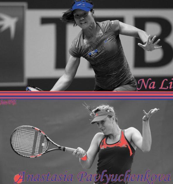 Jeu Tournoi Treve Hivernal - 1er Tour : A. Pavluychenkova-N. Li !