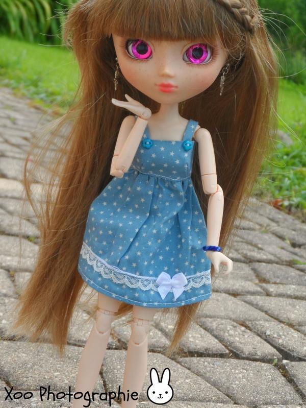 Romane et sa nouvelle robe ♥♥