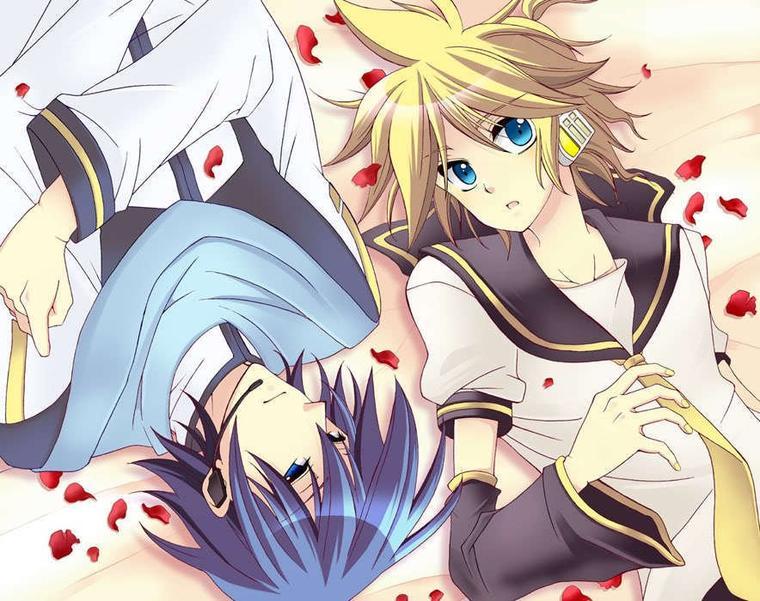 Chapitre 5 : Le défi de Len et Kaito .