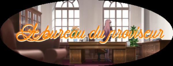Le bureau du proviseur
