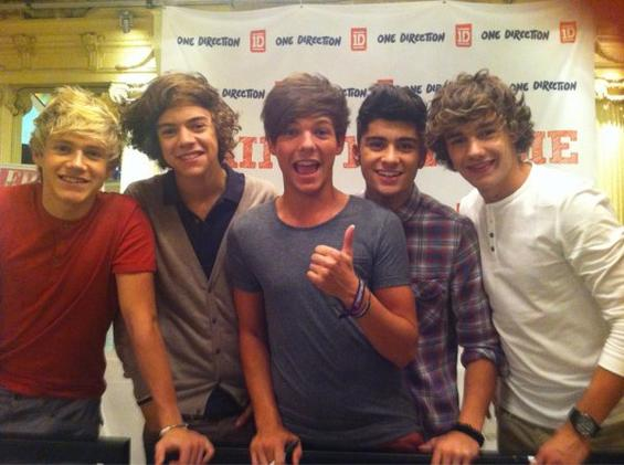 Les One Direction en Suède !