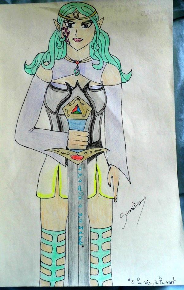 Antara, la princesse elfe guerrière