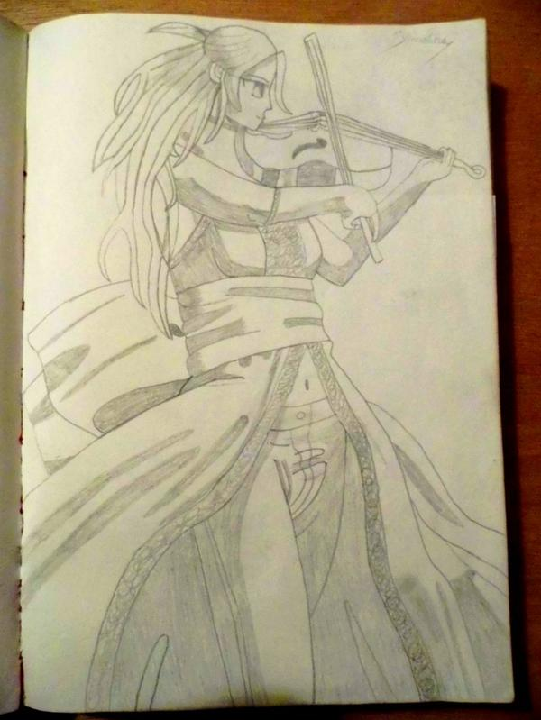 Linlin, la violoniste prodige
