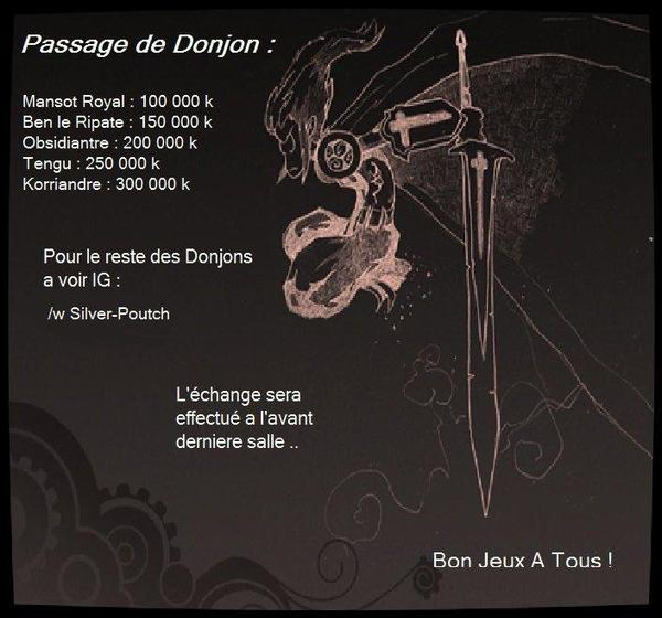Passage De Donjons Fri II