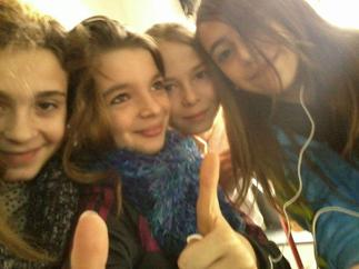 Elise , Moi , Charlotte Et Kathleen
