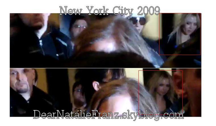 Natalie Franz in NYC 2009