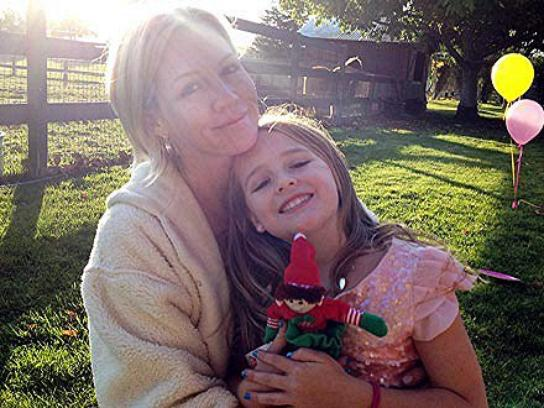 Jennie et sa fille