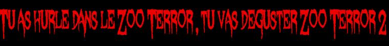 Zoo Terror 2