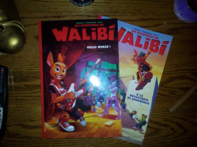 Le Volume 2 de la BD de Walibi est sortie (HELLO WORLD)