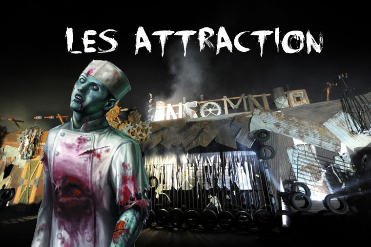 Les Attraction (House) Halloween Zombie Attack 2012 (Walibi)