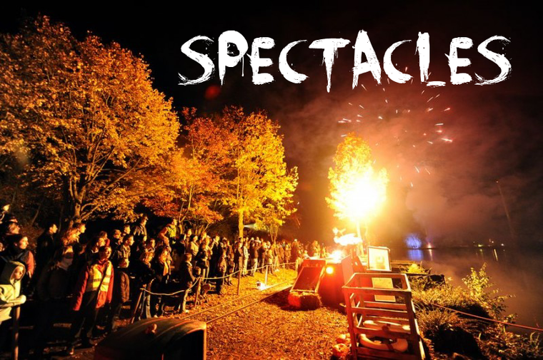 Spectacle Halloween Zombie Attack 2012 (Walibi)