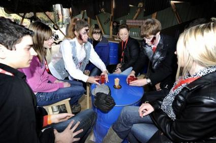 Zombie Bar (Zone) Halloween Zombie attack 2012 (Walibi)