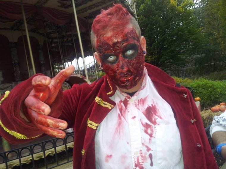 Critique et récapiculatif de la première journée du Halloween Zombie Attack de Walibi