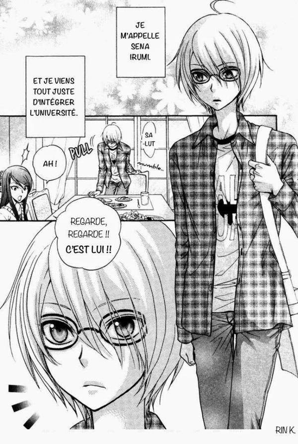 Love stage chapitre 1 ( partie 2 )
