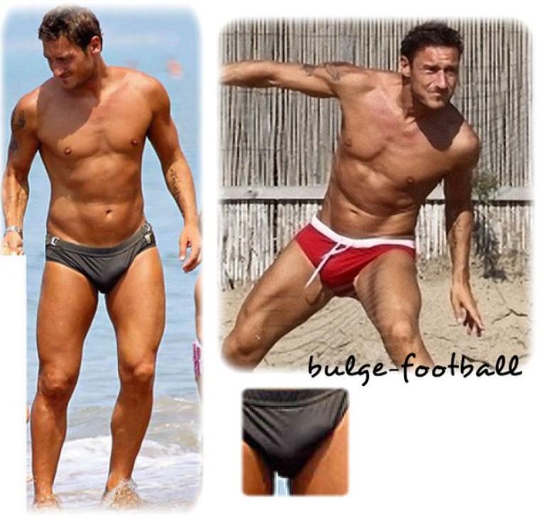 Francesco Totti king speedo bulge