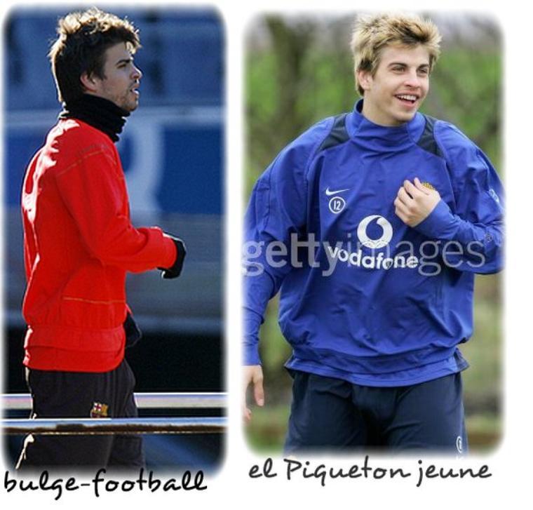 Gerard Piqué master big bulge