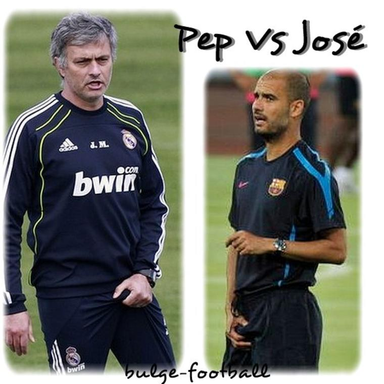 Pep Guardiola vs José murhino bulge