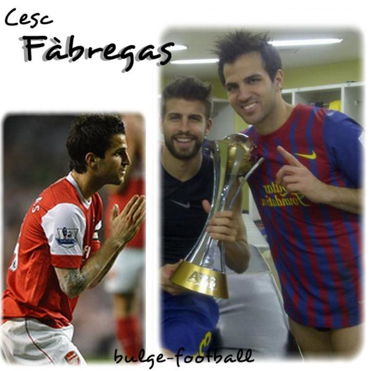 Cesc Fàbregas big bulge & sexy