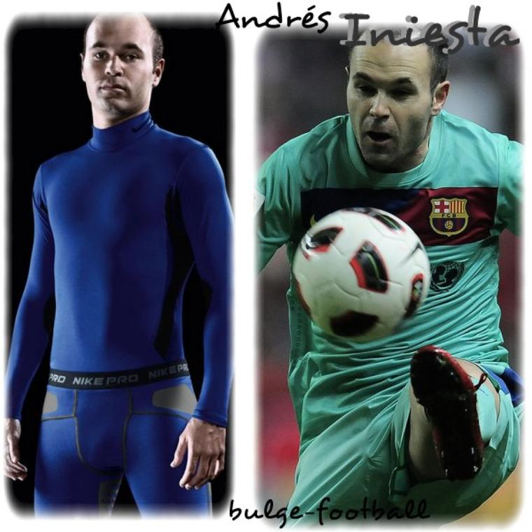 andrés iniesta big bulge