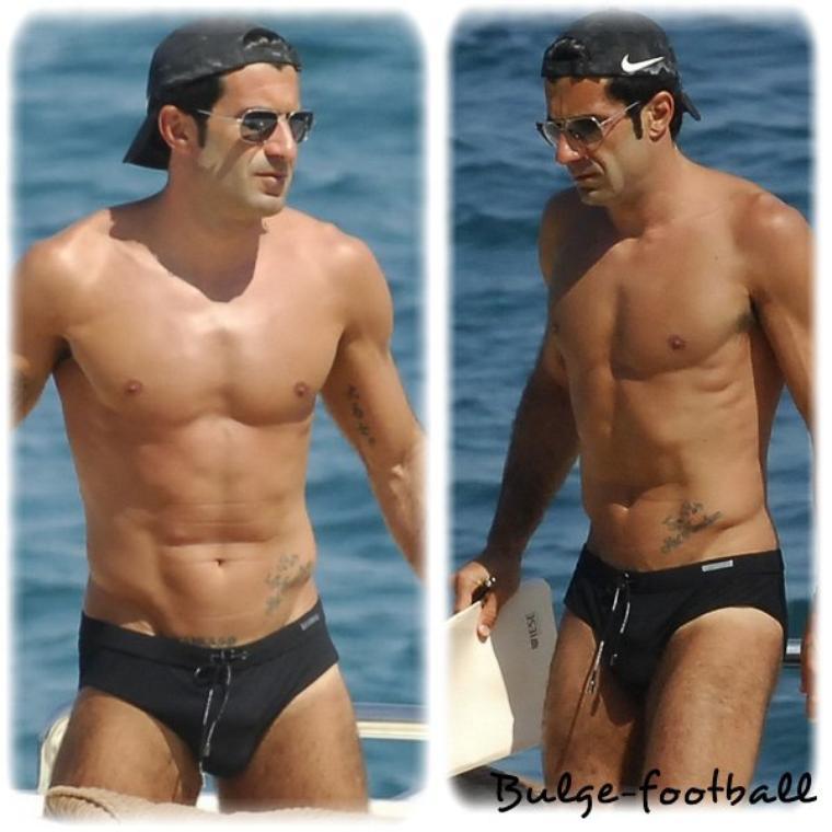 Luis Figo bulge