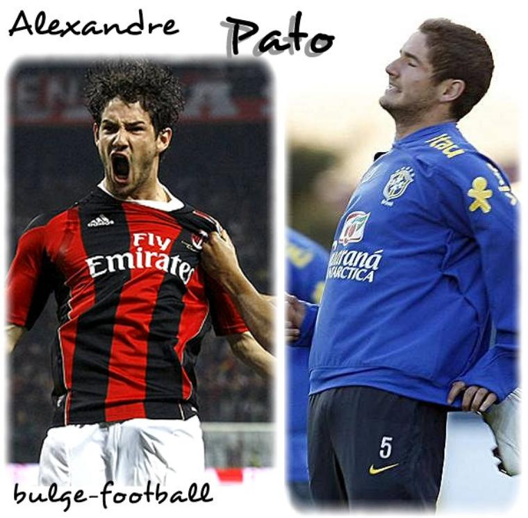 Alexandre Pato bulge