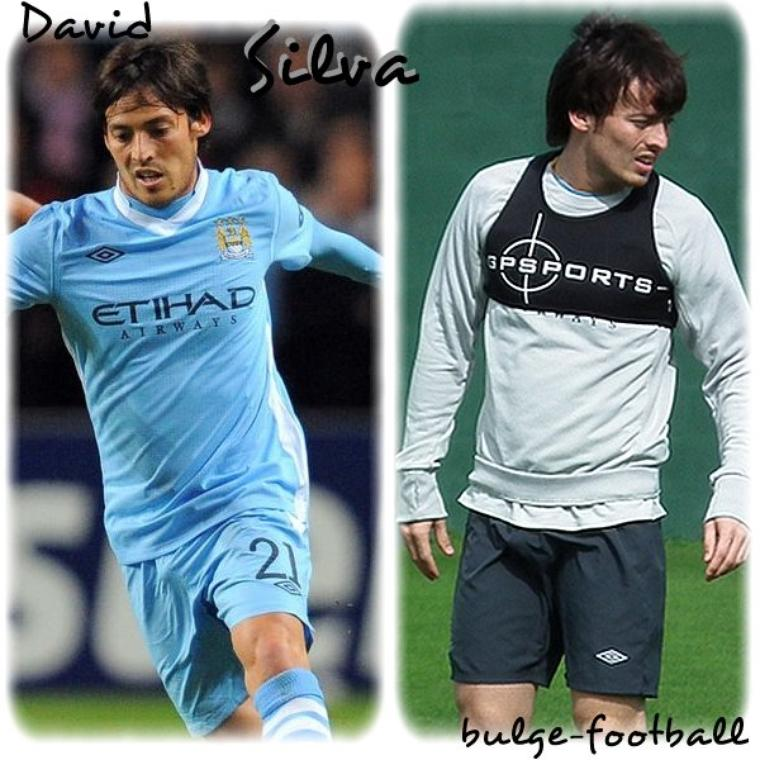 David Silva bulge