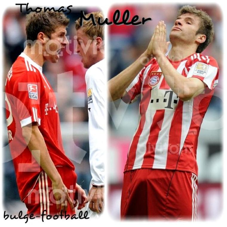 Thomas Muller monster bulge