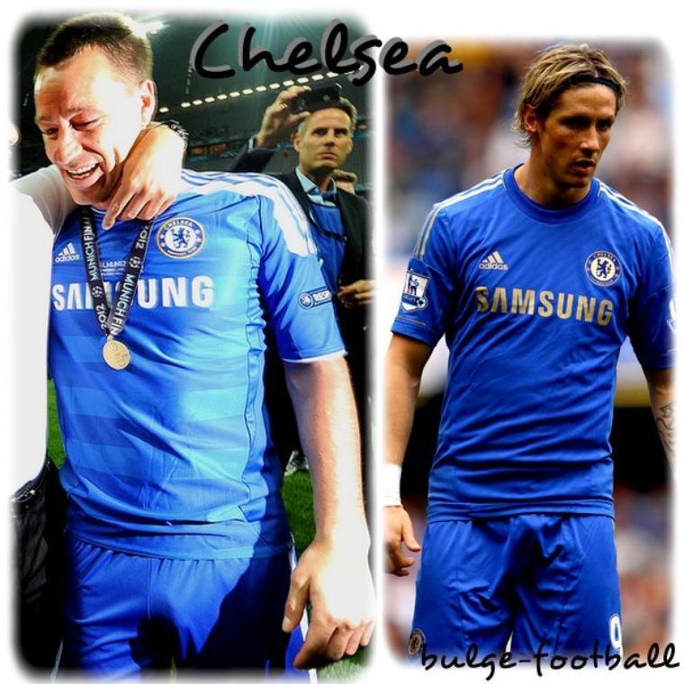Chelsea bulge: Torres y terry