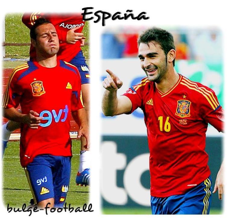 España equipo de gran paquete !