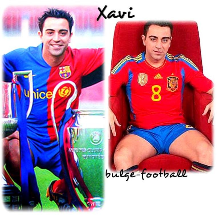 xavi hernandez master of big bulge