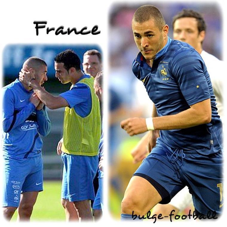 Euro 2012 : france Benzema Y Adil Rami bulge