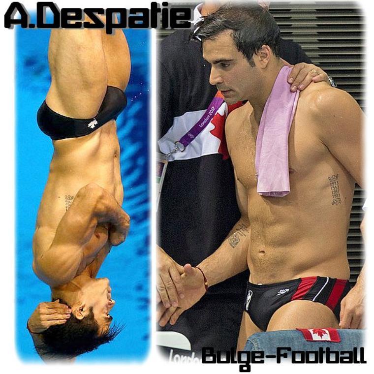 Special JO londres 2012 : Alexandre Despatie Bulge XXL