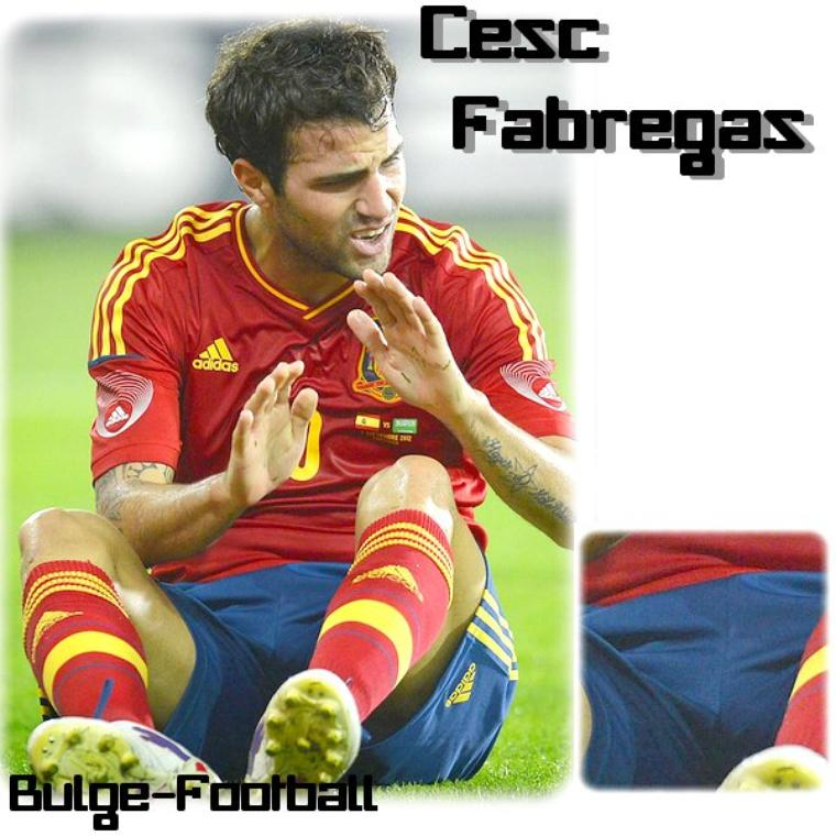 Cesc Fabregas Big bulge