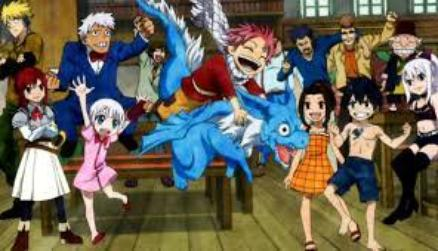 pourquoi aime-t'on FAIRY TAIL?