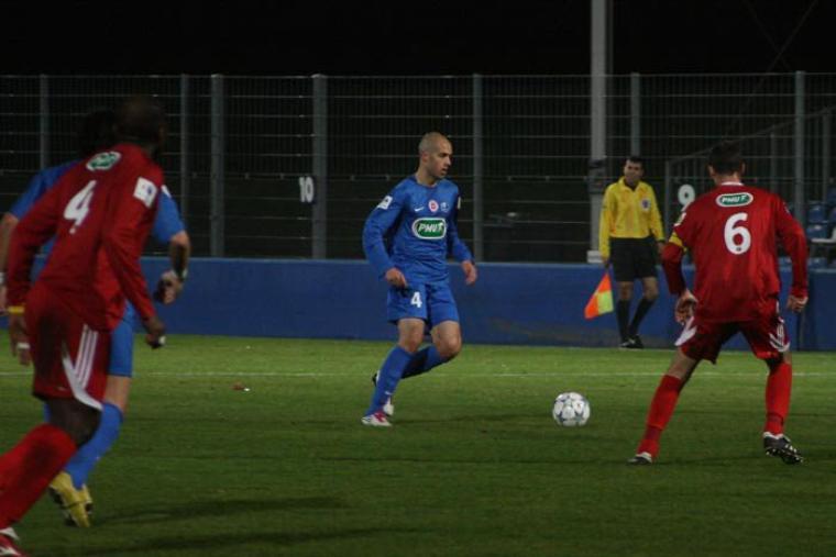 Romain Reynaud coupe de France 2011/2012 (porté contre Chamalières, 8ème tour le 10/12/2011)