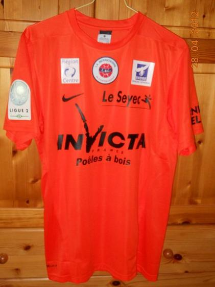 Romain Inez 2011/2012 (porté à Bastia le 23/04/2012)