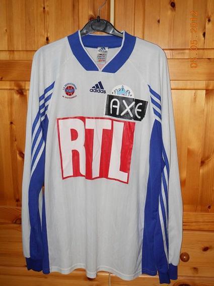 Laurent Dufresne coupe de France 1999/2000 (porté à Rennes le 21/01/2000, 32ème de finale)